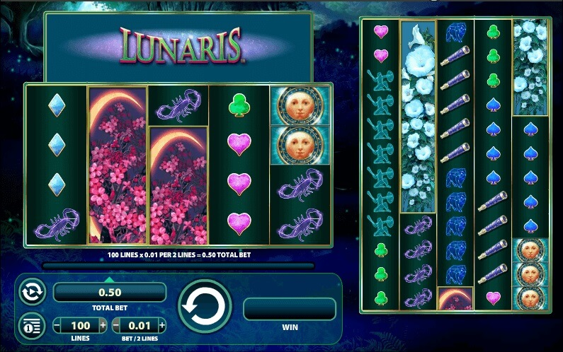 lunaris online slot machine